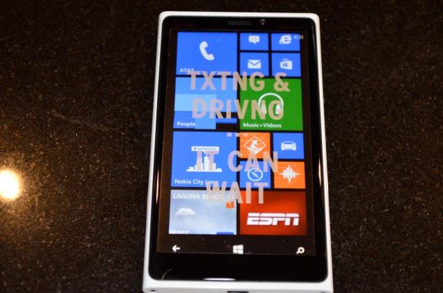 The new Nokia Lumia 920.