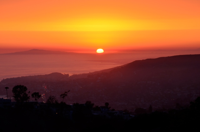Another beautiful sunset in LB... ISO 250 F13 1/30