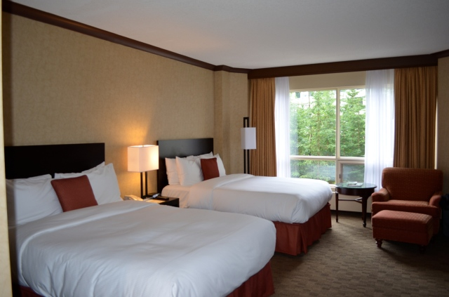 Room at the Rimrock Hotel.