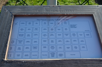 The French Laundry garden map
