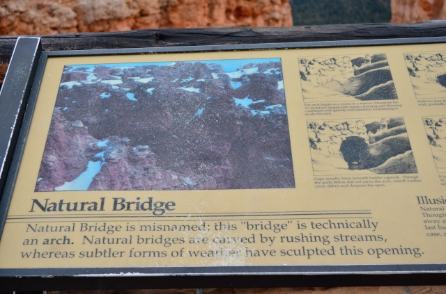 Natural Bridge is apparently a misnomer.