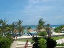 A better all-inclusive Mexico - I doubt she even remembers this trip.