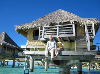 Staying at an over-water bungalow in Bora Bora didn't measure up.